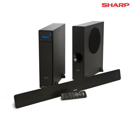 169.00 instead of 349.99 - I found this amazing Sharp 3.1 Channel Sound Bar Surround Sound System at nomorerack.com for 52% off. Sign up now and receive 10 dollars off your first purchase