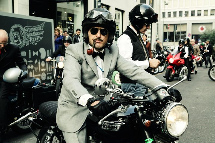 2015 The Distinguished Gentleman's Ride #caferacer #bobber #scrambler #bratstyle #motorcyclesculture   caferacerpasion.com