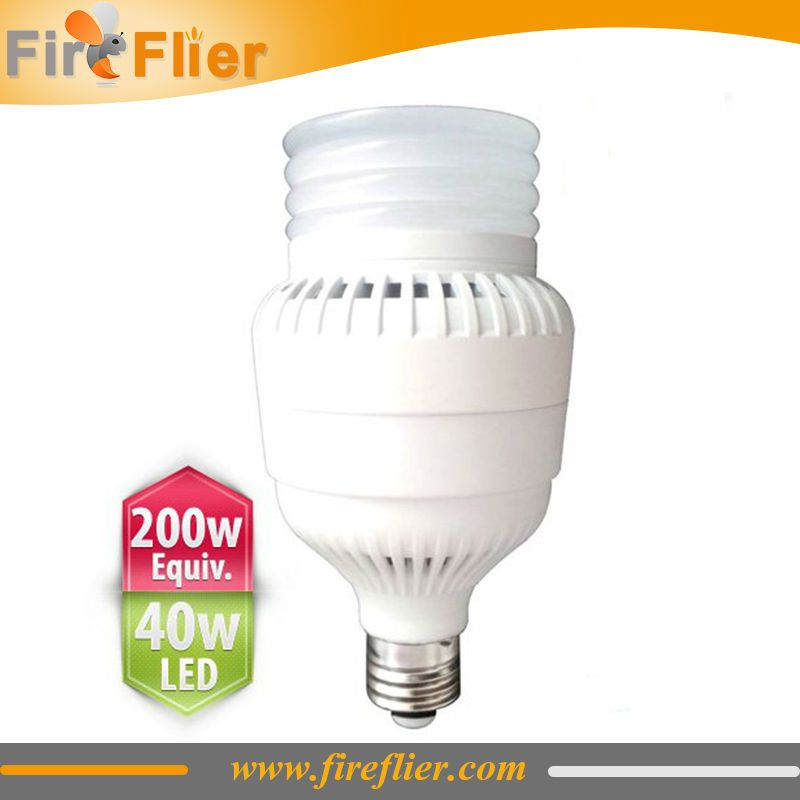 E26 E27 Led Bulb 40w Replacement Of 200w Incandescent Bulb 100w Hps And Mh Lamp For Warehouse Store Led Replacement Bulbs Led Bulb Bulb