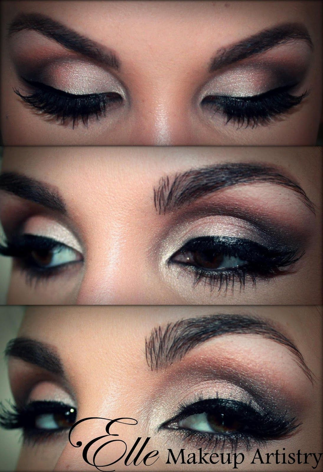 Eyes Green makeup for dramatic effects