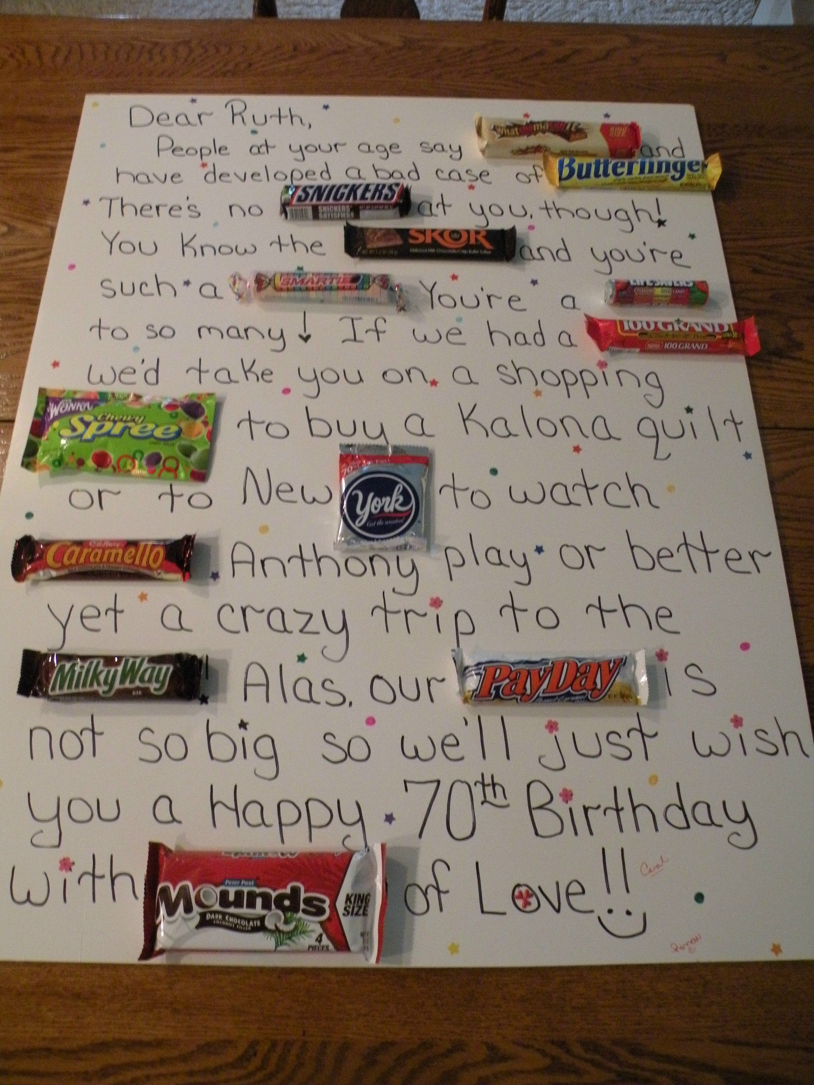 Candy bar birthday card gifts pinterest verjaardag snoep candy bar birthday card bookmarktalkfo Image collections