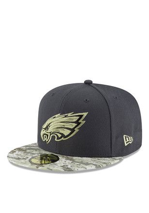 2d0817027 Philadelphia New Era Mens Green 2016 STS 59FIFTY Fitted Hat | NFL ...