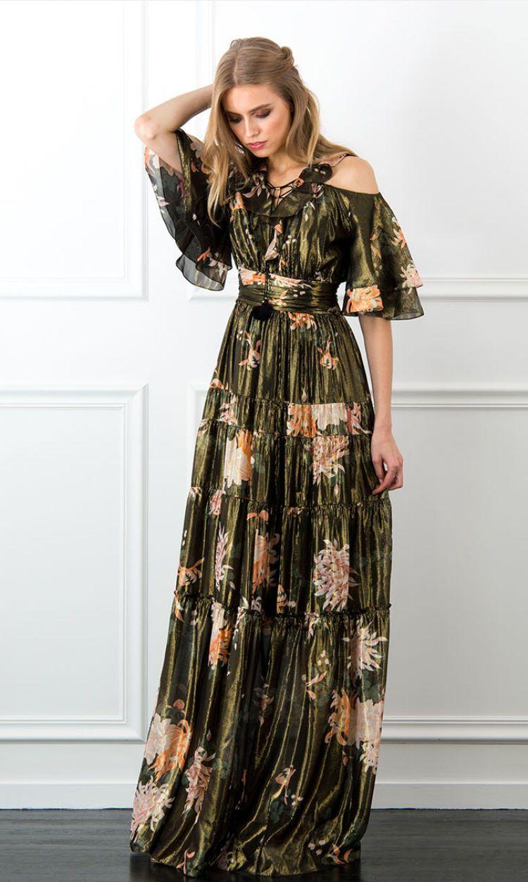 Cecily Kiku Print Dress Rachel Zoe Maxi Dresses Fall Maxi Dress Outfit Fall Long Dress Casual [ 1254 x 750 Pixel ]