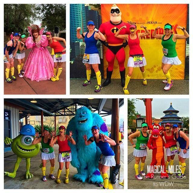 Character race photo tips at Disney from Megan Biller