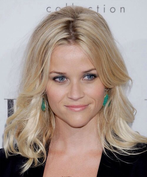 Virtual Hairstyle For Your Face: Reese Witherspoon Hair, Light Blonde