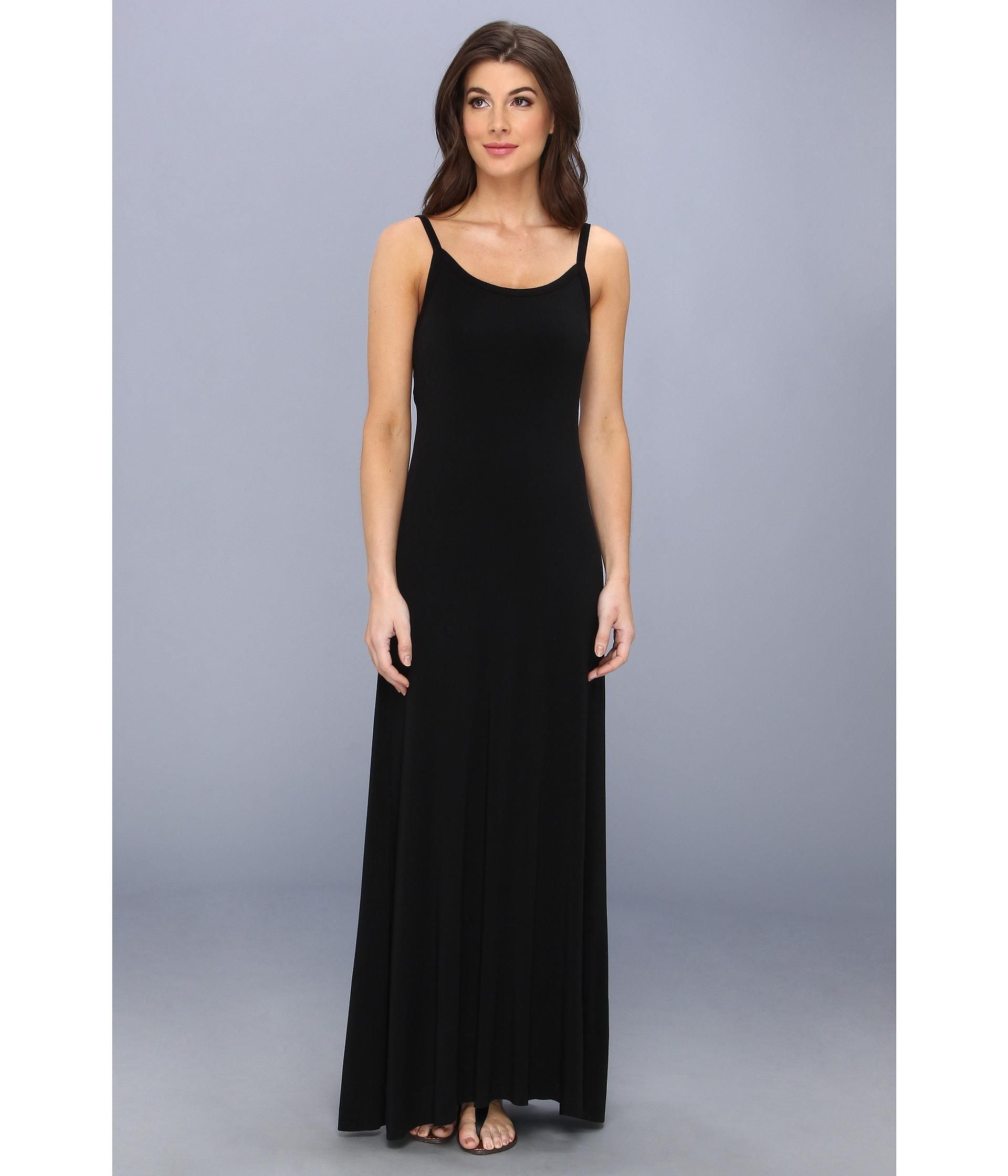 The maxi dress you've been waiting for.. Superbly soft rayon-poly blend in an easy, draped jersey ...