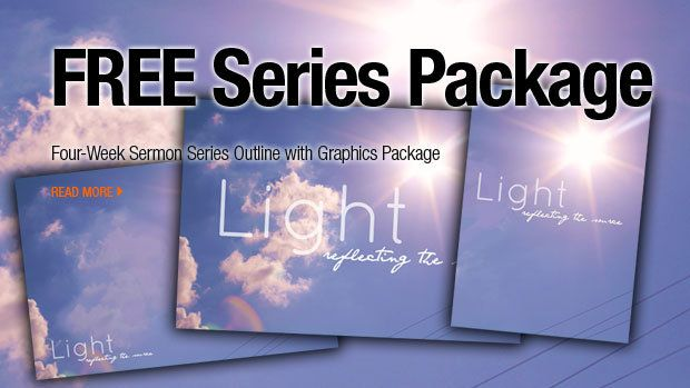 Free sermon series graphics and outline from Ministry