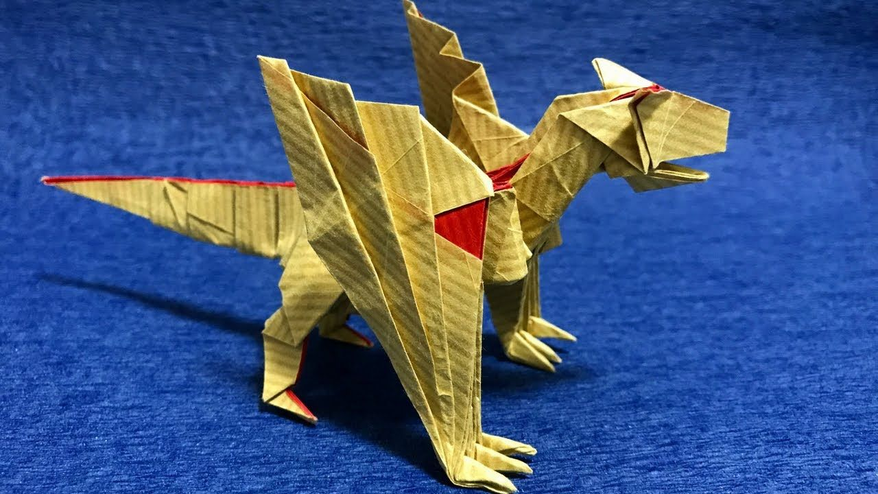 Pin By Luis Marrero On Origami Pinterest Diagram Dinosaur Create Stunning Models Your Animals Monster Hunter Video Tutorials Paper Art Dragons