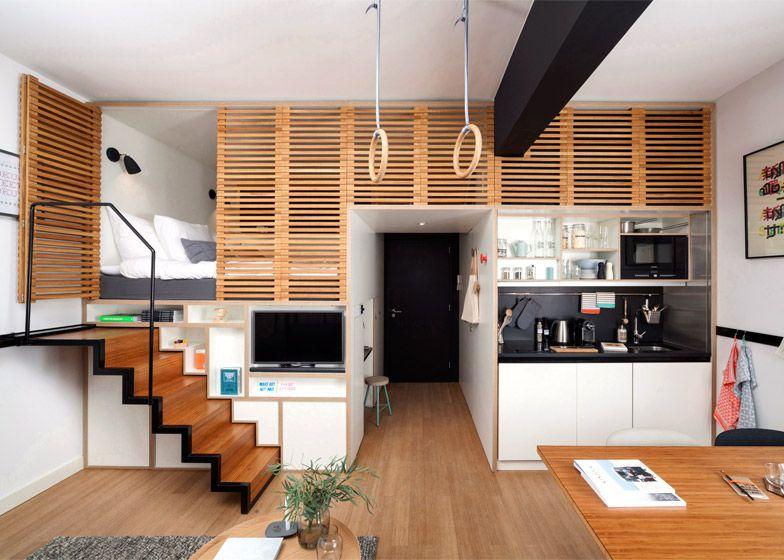 Studio - un aménagement moderne et bien pensé | Nice, Concrete and ...