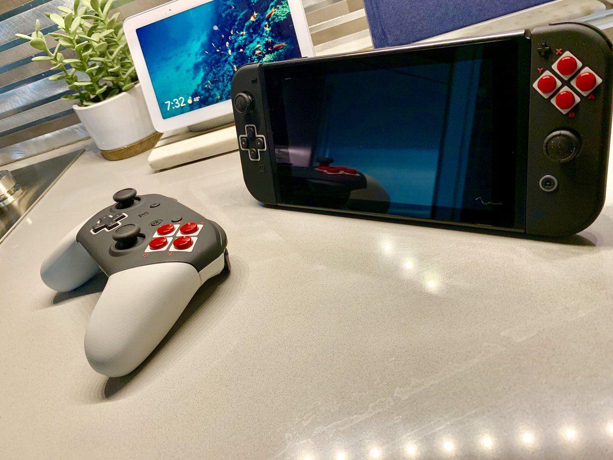 Nintendo Switch NES themed joycons are 🔥🔥🔥 Nintendo