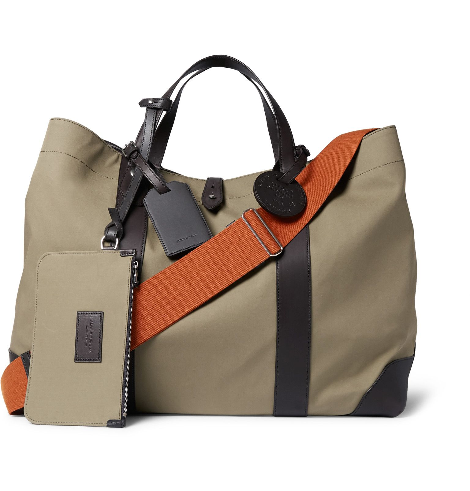 44988ae9d3dc Dunhill Leather Totes, Leather Bags, Sports Bags, Men Bags, Prada Men,
