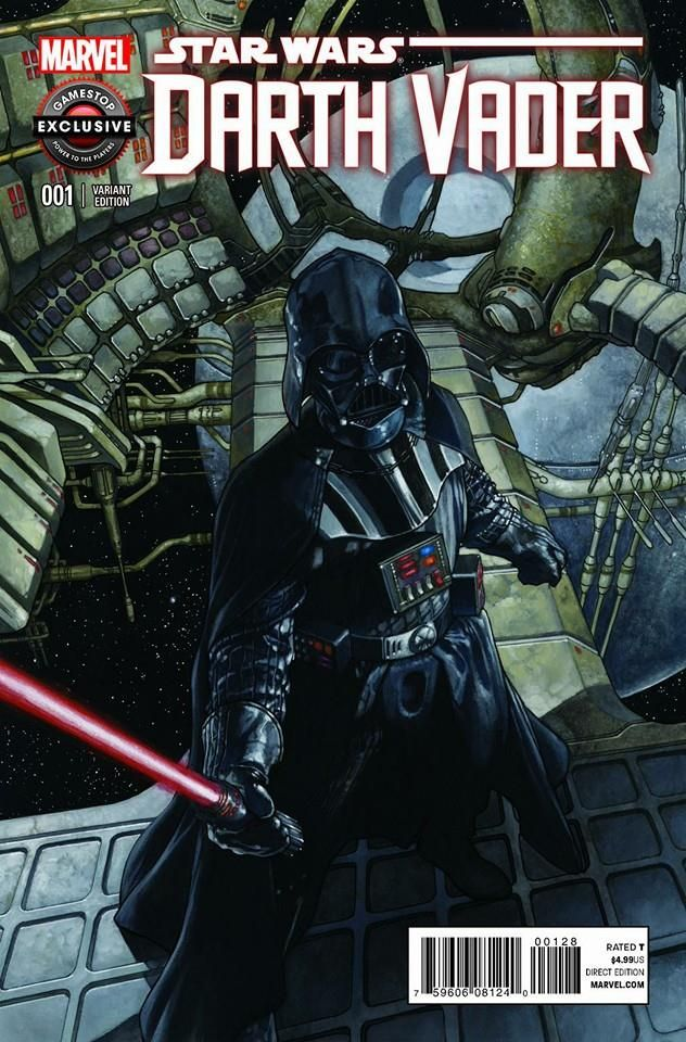 Star Wars - Darth Vader #1 variant cover by Simone Bianchi *