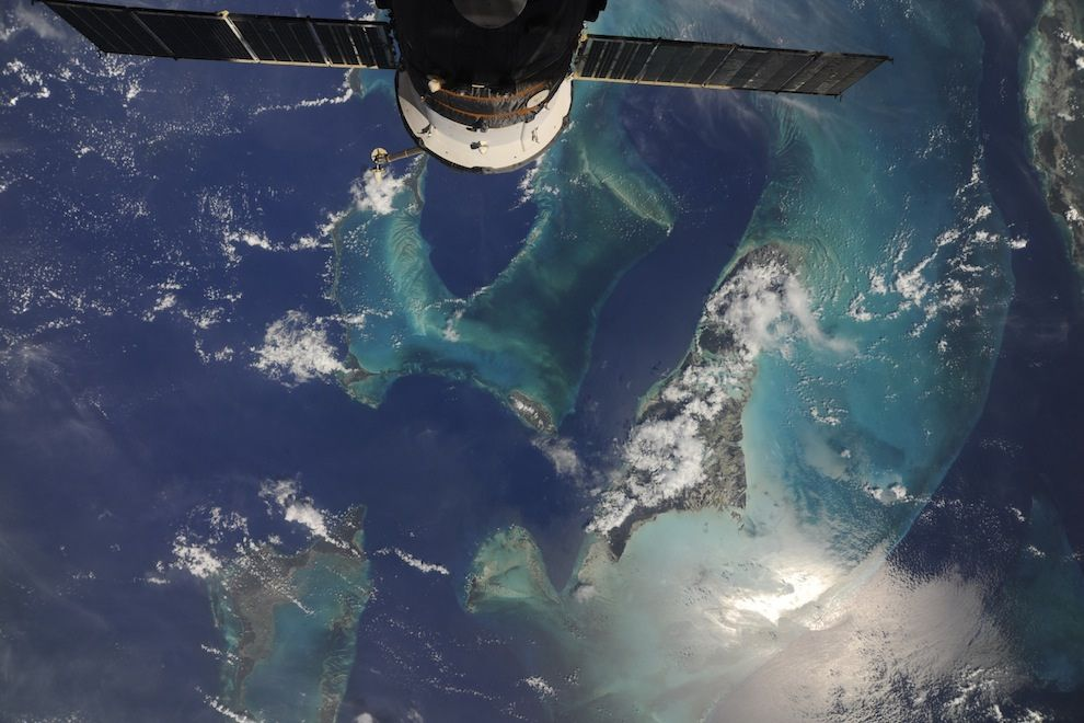 Incredible Photos from Space: Progress-37 over Bahamas