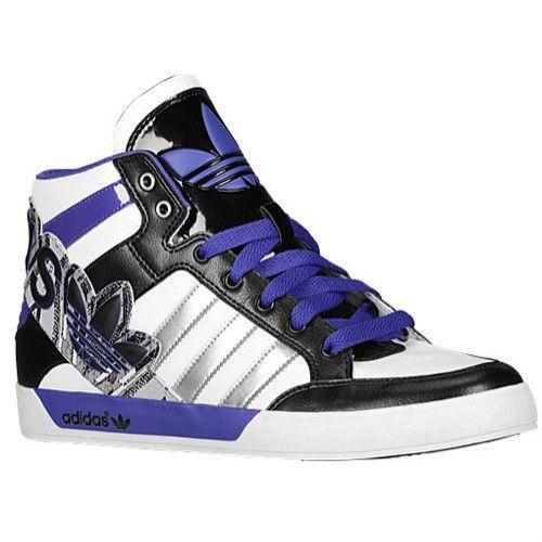 Mens Adidas Originals Hard Court 2 Big Logo Sneakers, White