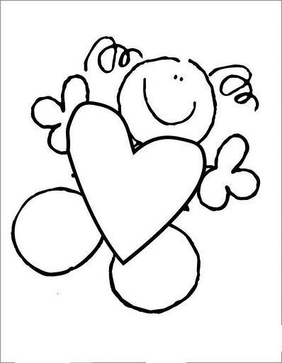 Te Doy Mi Amor Dibujos De Fulanitos Dibujos Y Corazon Para Colorear