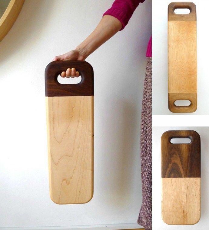 Tablas de cortar de madera maciza de David Santiago | ESSLOW BLOG ...