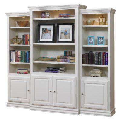 a & e kamran wall bookcase pearl white A & E Kamran Wall Bookcase   Pearl White   600W | Walls and Moldings a & e kamran wall bookcase pearl white