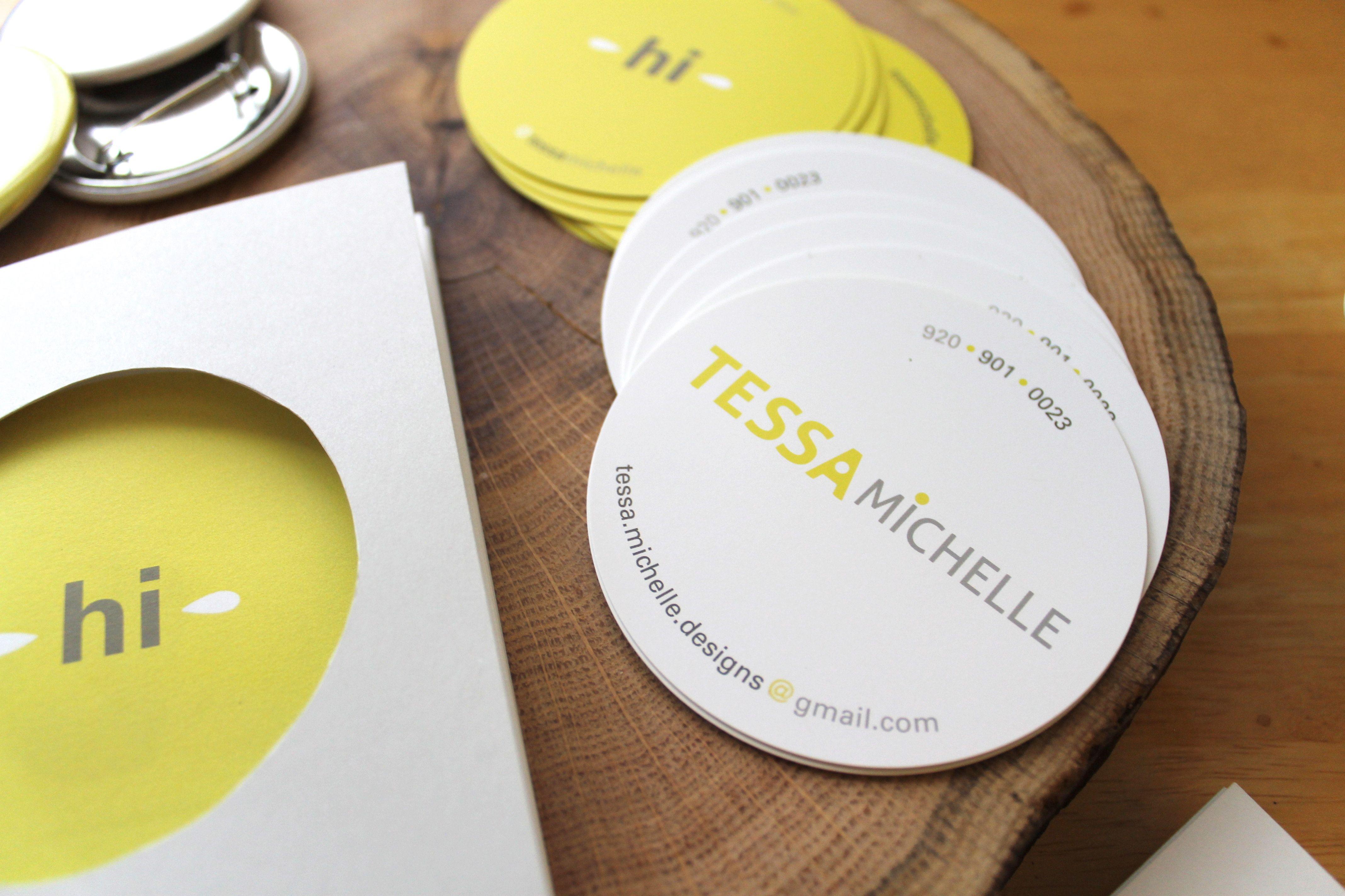 personal brand materials tessamichelle branding