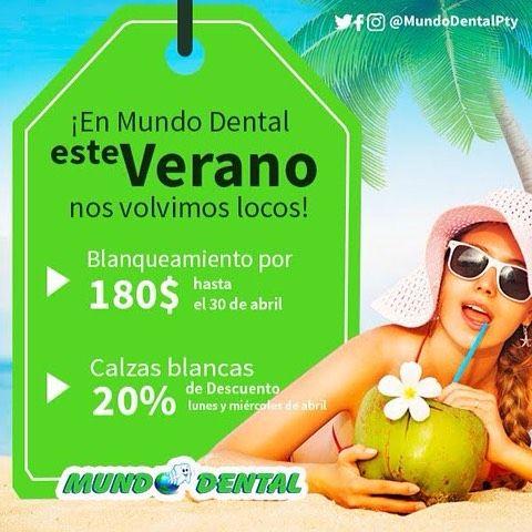 Quieres que tu sonrisa brille tanto como el sol de verano? Entonces aprovecha nuestras #PromosDeVerano ! >>Quedan muy pocos días!!! . #Verano #Panama #Pty #Abril