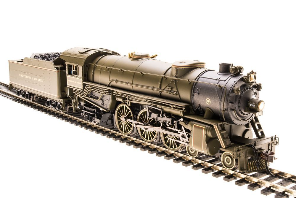 Broadway Limited B&O #5302 4-6-2 Light Pacific HO DCC Sound
