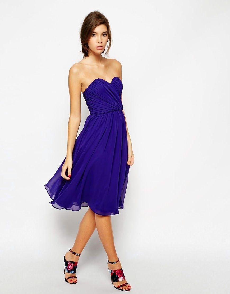 Excelentes vestidos cortos de moda | Vestidos elegantes para ...