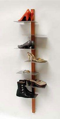 Simply Fab: 659 Design Shoe Shelf | Diy shoe rack, Shoe rack and ...