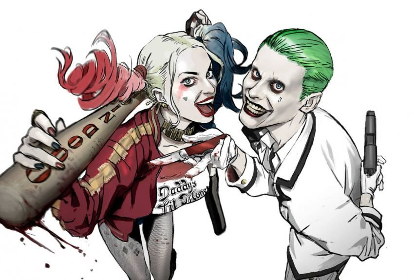 Suicide Squad Harley Quinn And Joker Wallpaper Tumblr Wallpapers Comics Love