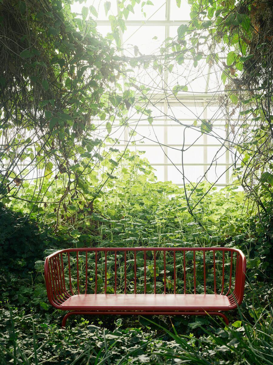 Brusen 3 Seat Sofa Outdoor Red Ikea Switzerland