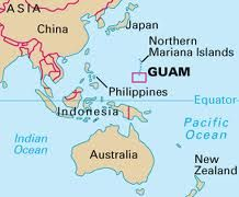 Geography Lesson The Location Of Guam My Island Of Guam - Guam location