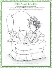 Fancy Nancy Printable Activities Fancynancyworld Com Fancy Nancy Super Coloring Pages Coloring Pages