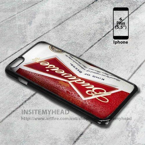 Iphone 6 Plus Case Bud Light Blue Beer Liquor Design