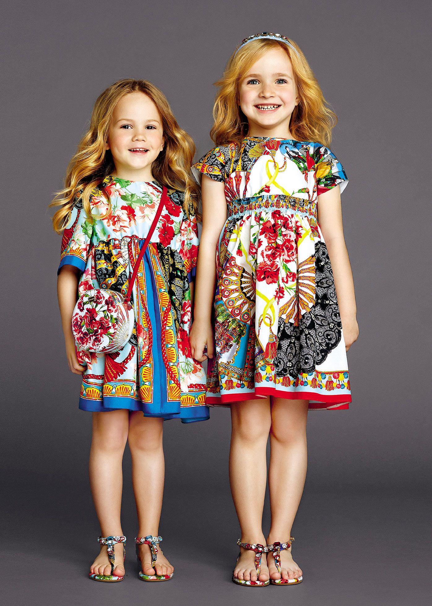 31e373bf09 Dolce & Gabbana Children Summer Collection 2015 | Vêtements et ...
