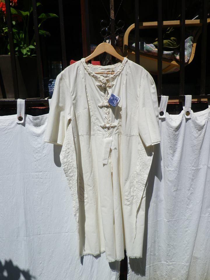 Vestido de algodón ecológico