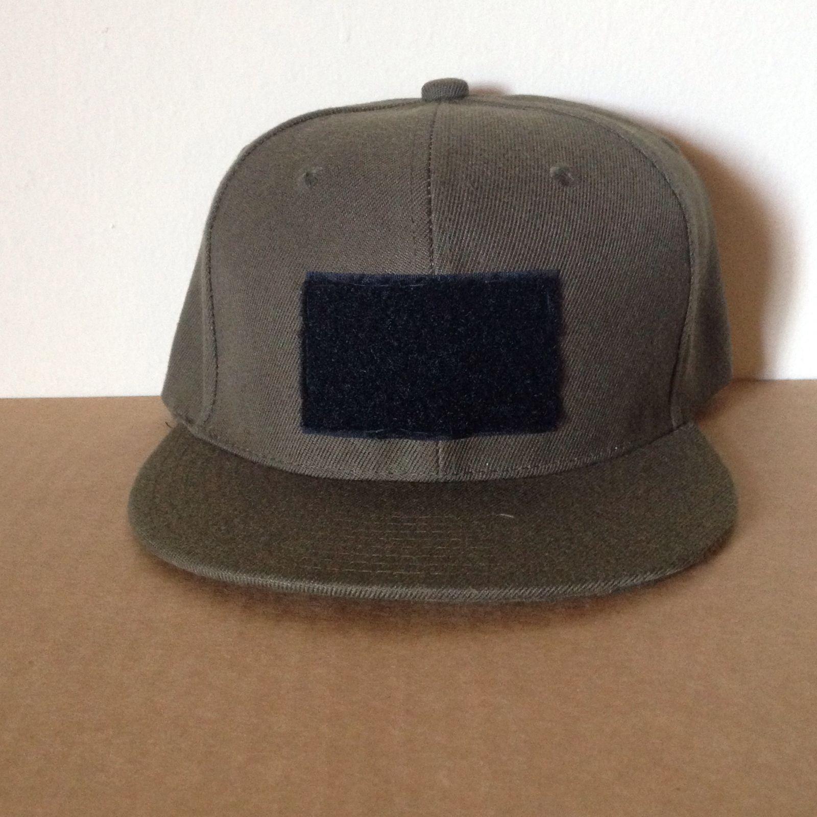 Black flat bill tactical hat / 3 Percenter Gear | hats