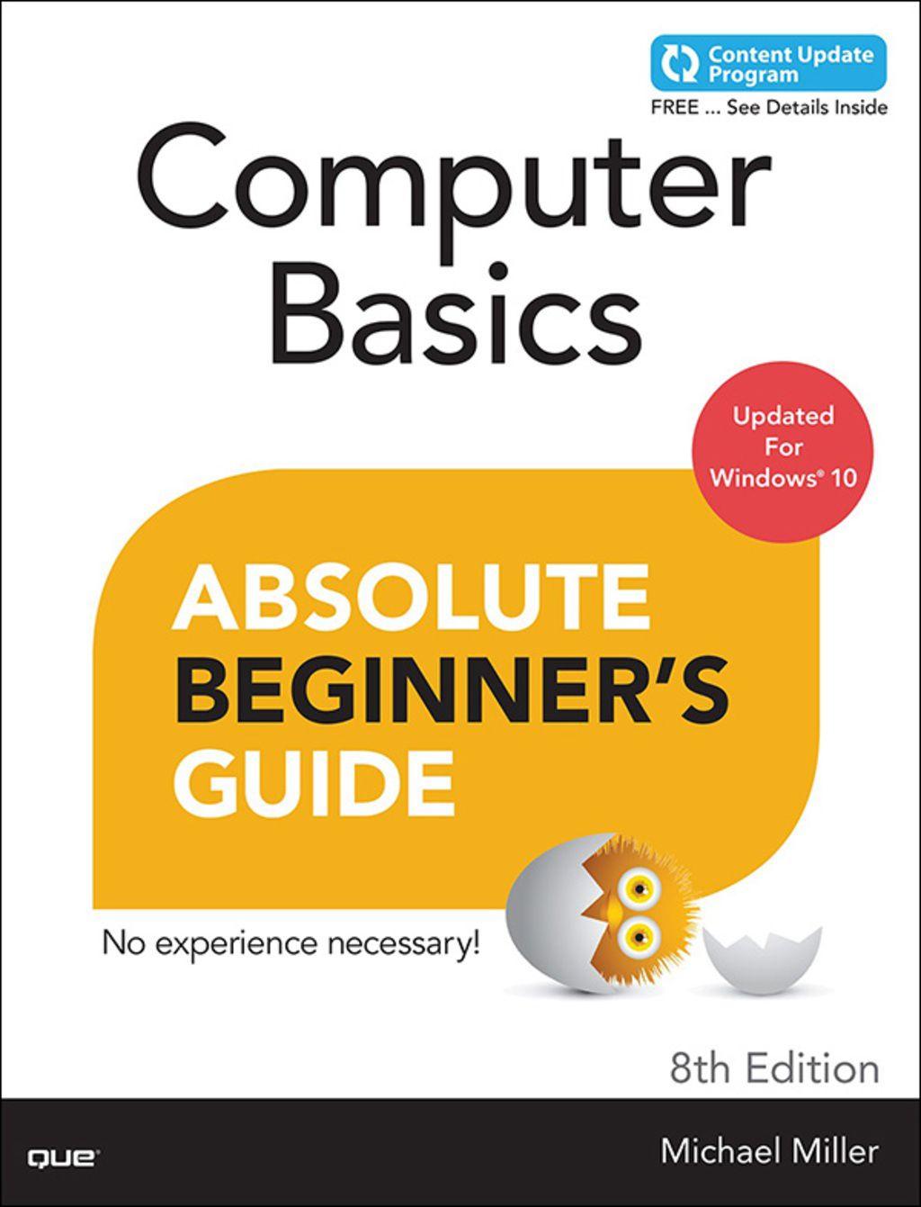 Computer Basics Absolute Beginner S Guide Windows 10