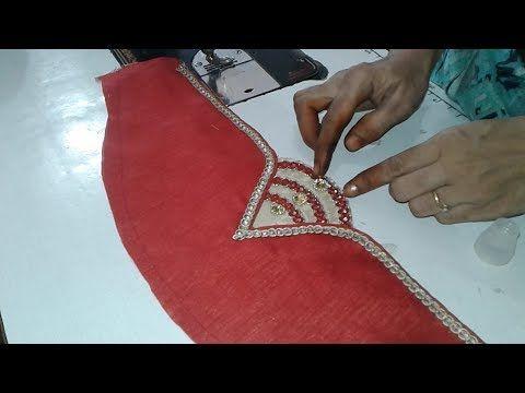 Designer Sleeve For Dress And Blouse Youtube Chukki Pinterest