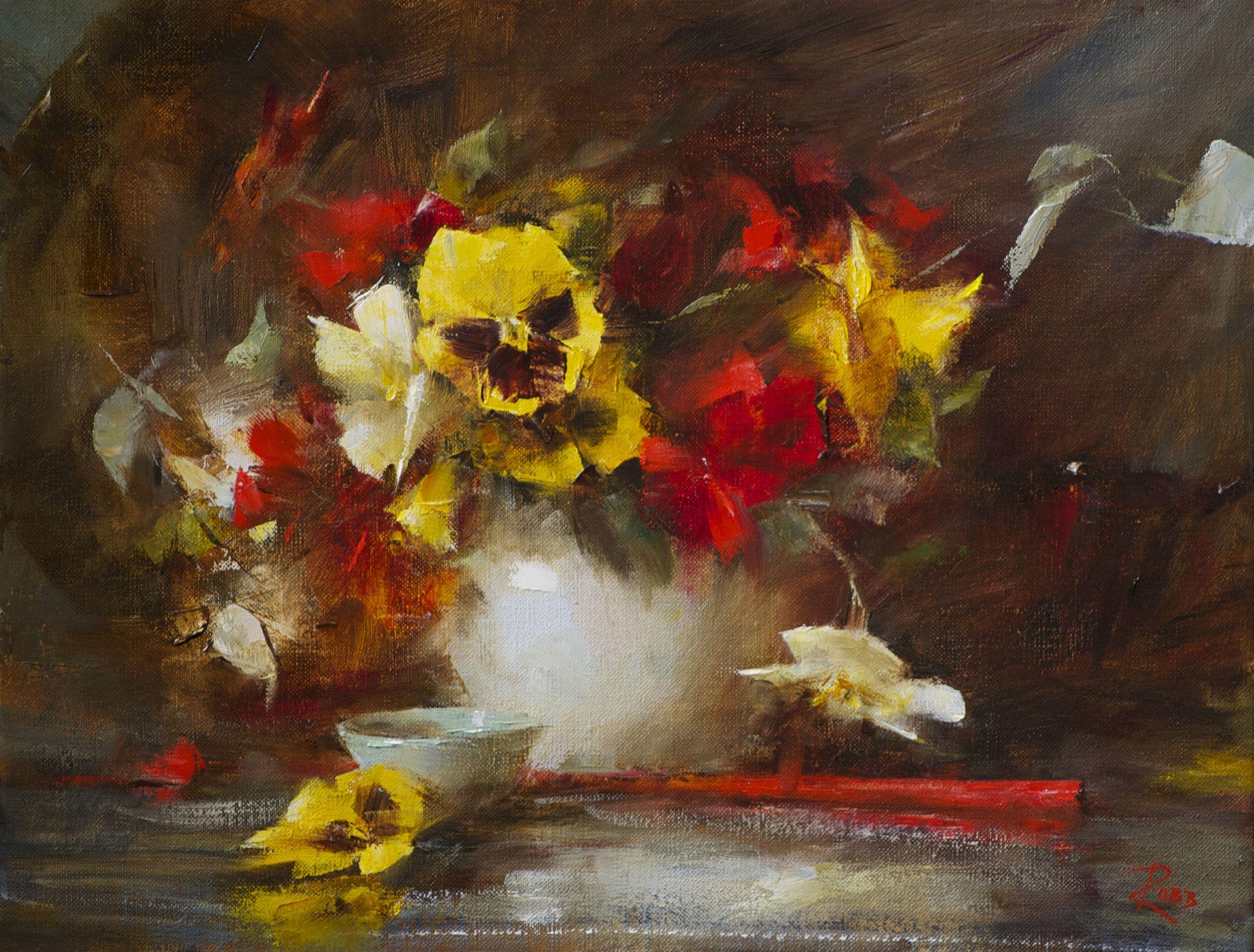 DSC_0038.jpg | Laura robb, Flower art painting, Flower art