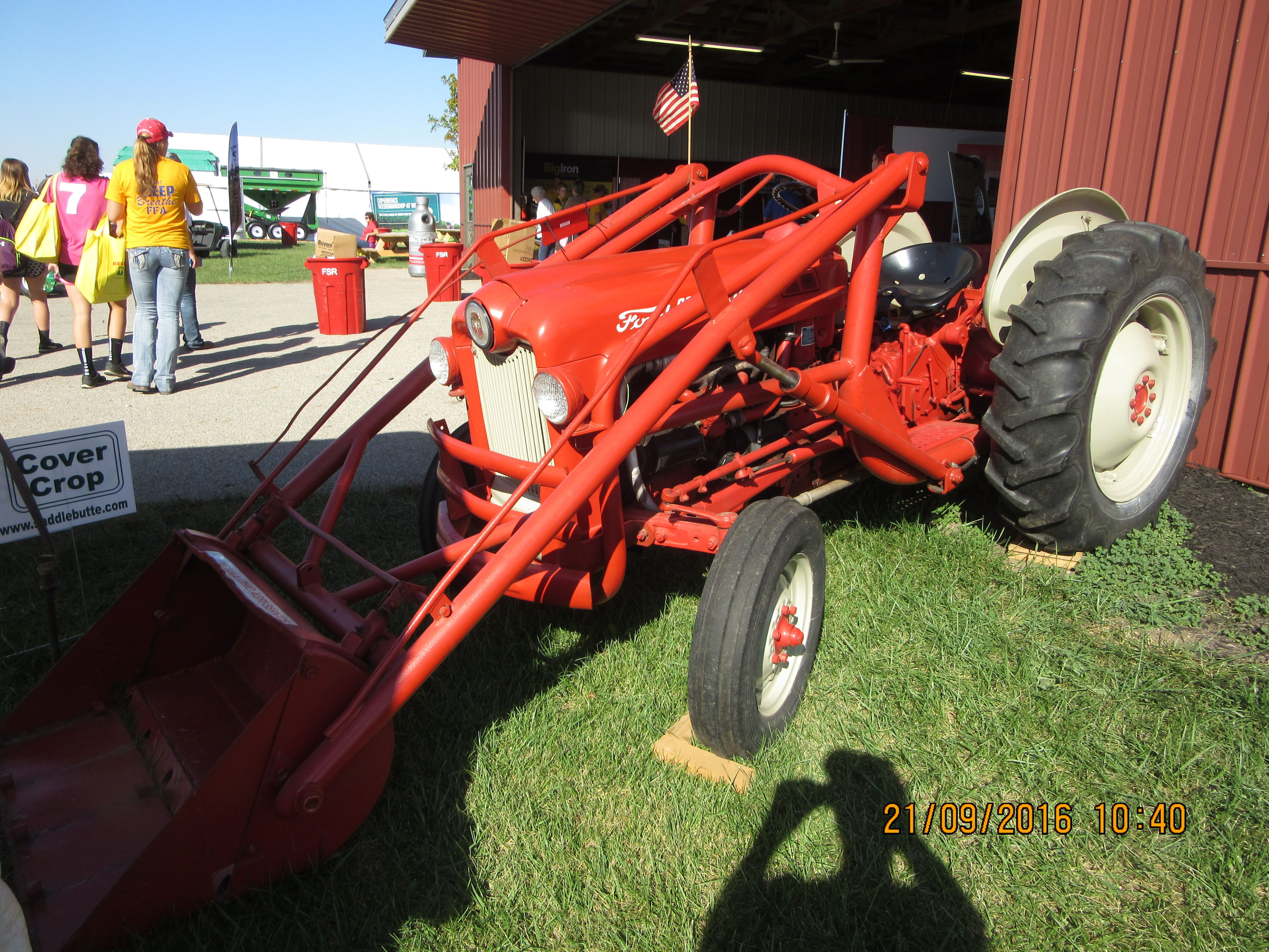 Red Ford 661 Workmaster Equipped With Loader Tractors 8n