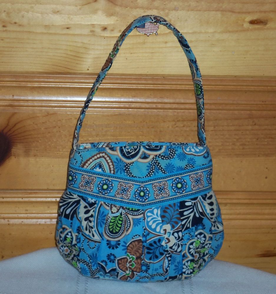3b727db6bb Vera Bradley Purse Handbag - Bali Blue Pattern  Vera Bradley  Handbag