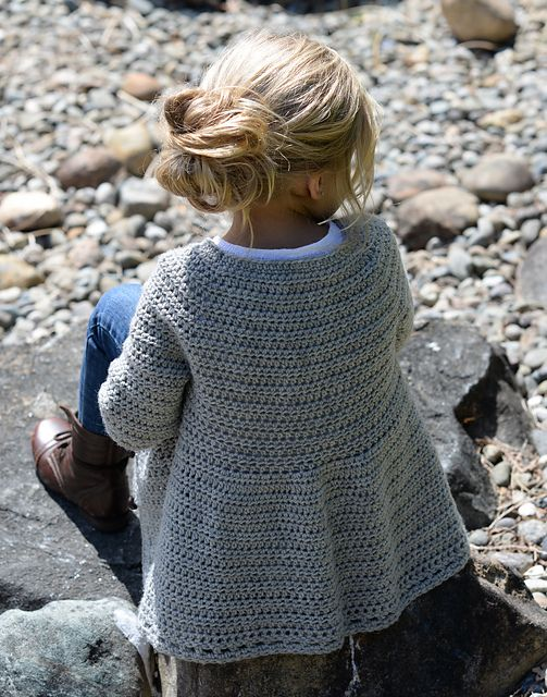 Cairbre Cardigan pattern by Heidi May | Crochet | Pinterest | Schal ...