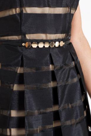 Фото Ремень на талию женский (40206120012) размеры XS, S, M, L. Большое фото. Вид сзади.