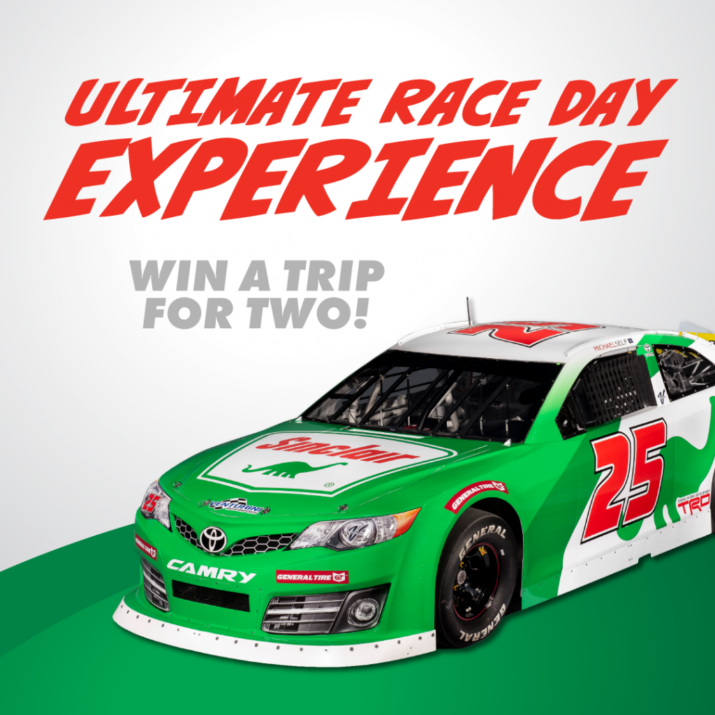 Ultimate Race Day Experience Contest Race Day Racing Win A Trip