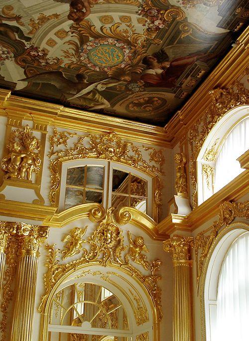 Catherine Palace - Tsarskoye Selo, Russia | Tsarskoe Selo