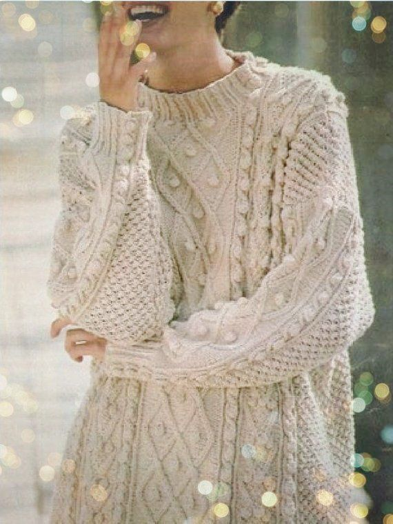 8a041e241a12 Instant PDF Digital Download Vintage Row by Row Knitting