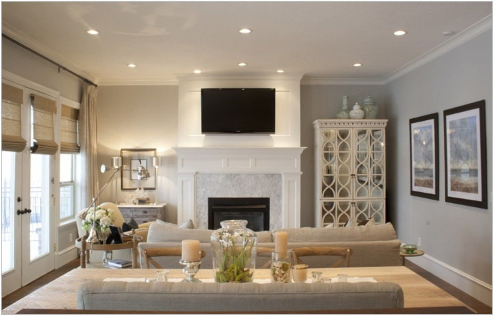 Living Room Paint Ideas Neutral Colors | Recessed lighting ...