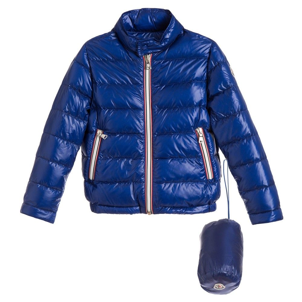 Bright Blue 'Rigel' Down Padded Jacket, Moncler