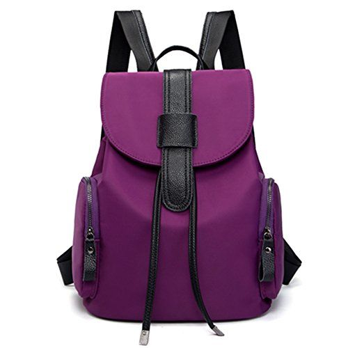Toupons Nylon Small Backpack Purse for Women Girls Drawstring ...