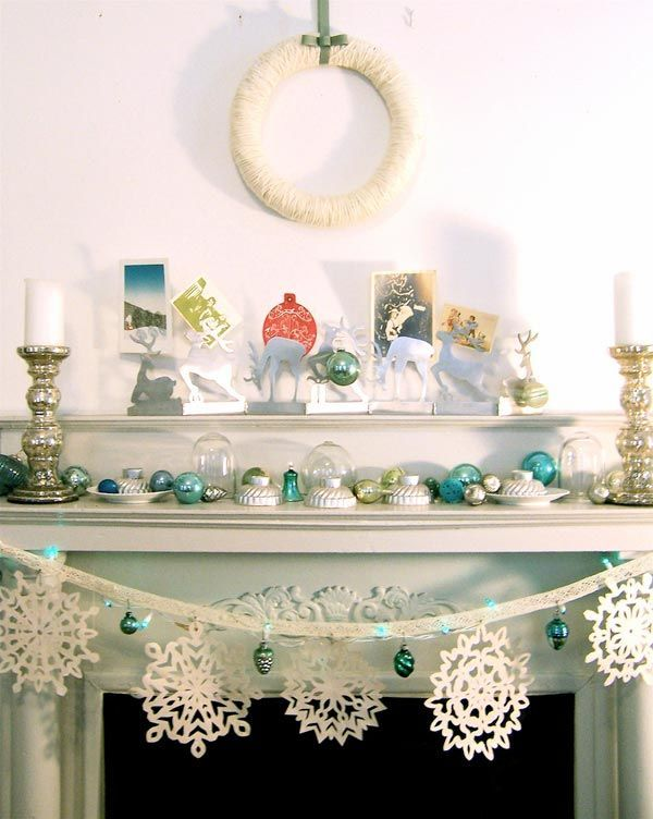 1000+ Images About Christmas Home Decoration On Pinterest | Christmas  Trees, Christmas Home Decorating And Christmas Mantles