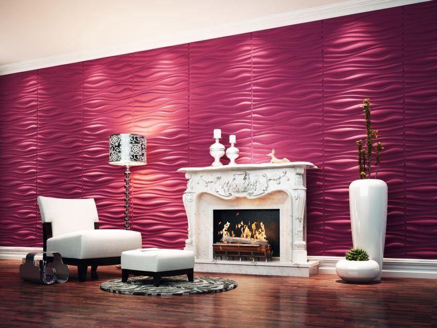 Paredes 3D | Cortinas y Persianas | Pinterest | 3d wall panels, Loft ...