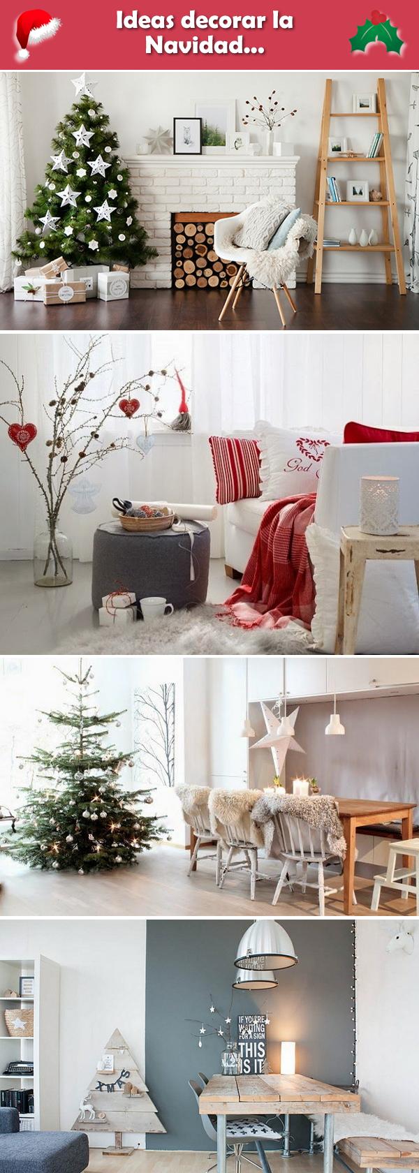 Ideas para decorar la navidad decoraci n navide a ideas - Decoracion navidena exterior ...